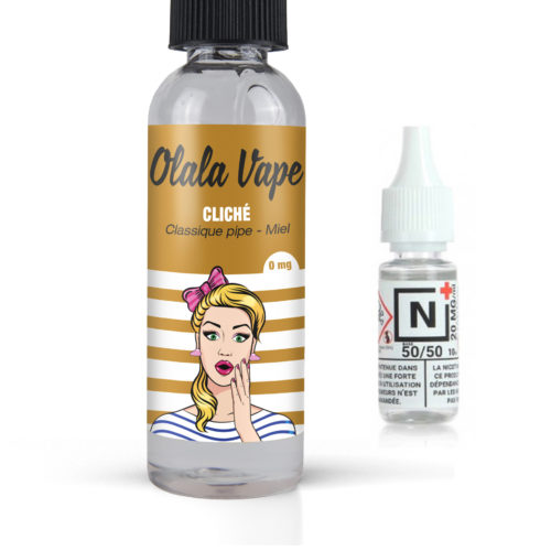 Nos Packs Formats 50ml + Booster de Nicotine